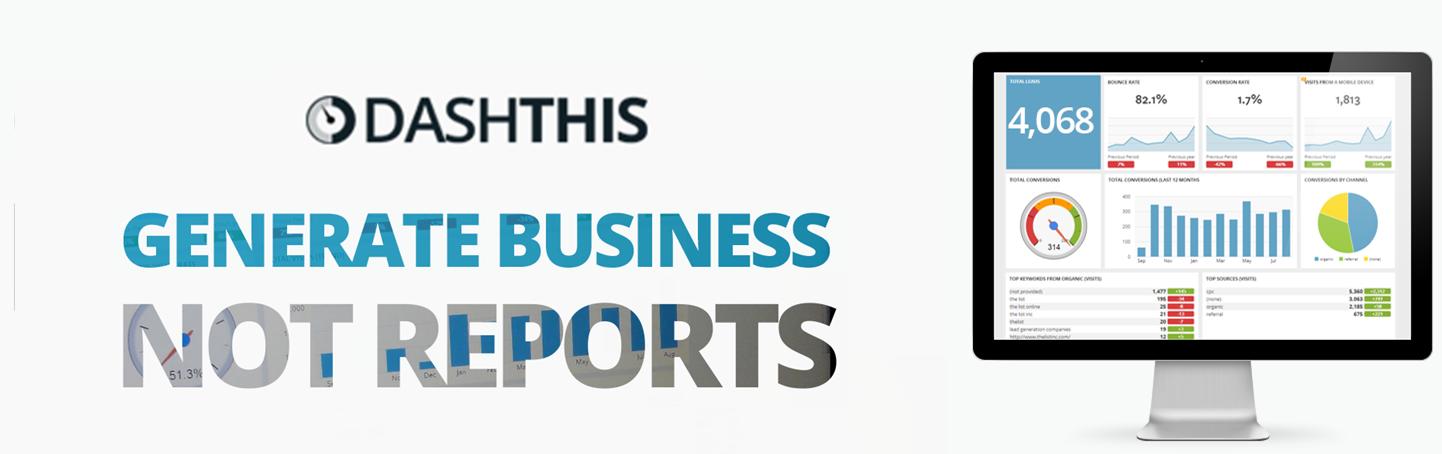 DashThis Analytics Website