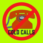No more cold calls or emails. [Image credit http://muddycolors.blogspot.co.nz/]