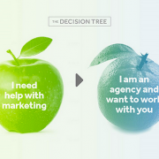 decision tree for creative agency services