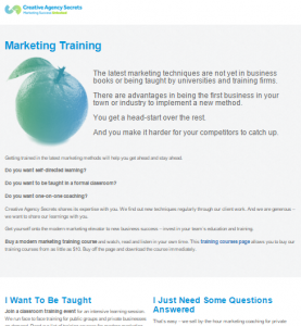 marketing-training BEFORE