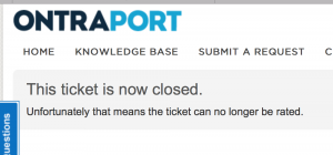 Ontraport does not want user feedback