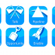 Marketing segmentation icons