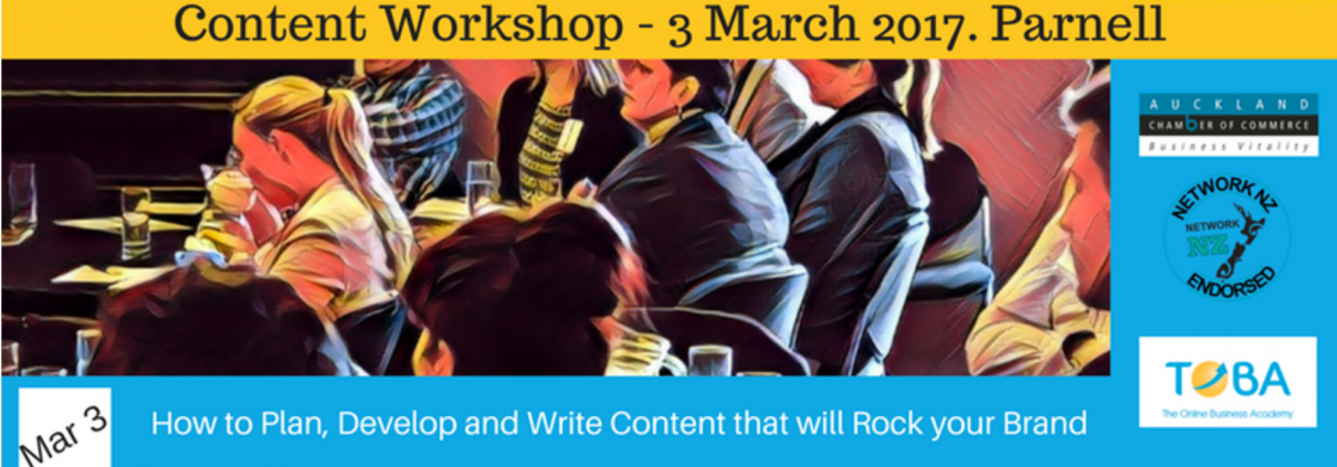 Content marketing workshop
