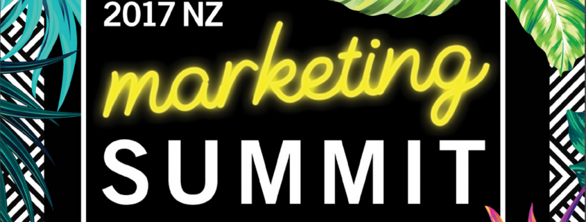 nz marketing summit 2017