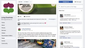 Living Goodness facebook page