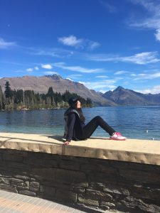 Abigail in Queenstown