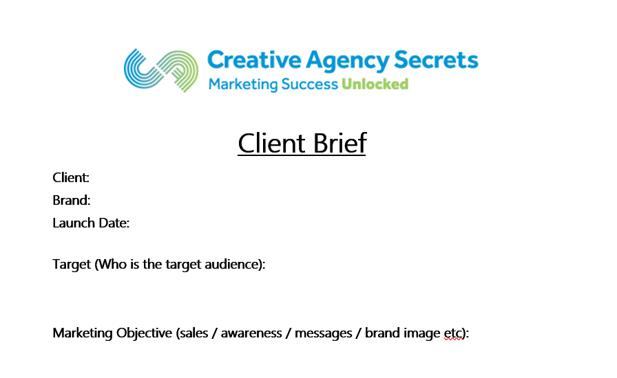What Does A Client Brief Look Like