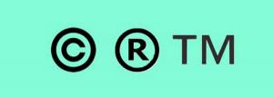 copyright & trademark symbols