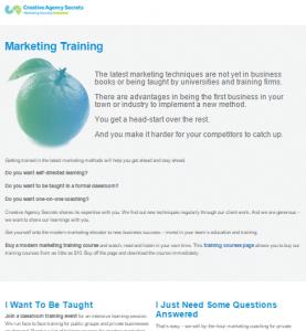 marketing-training BEFORE