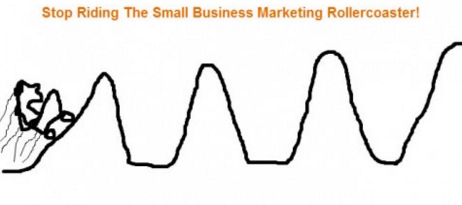Marketing rollercoaster