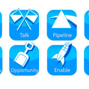 Marketing segmentation icons