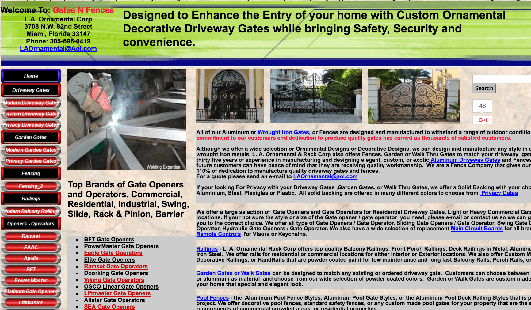 Gates N Fences page