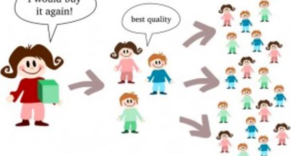 Referral marketing illustration