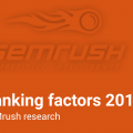 Ranking Factors 2017 report from SEMRush