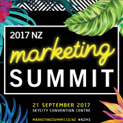 nz marketing summit 2017