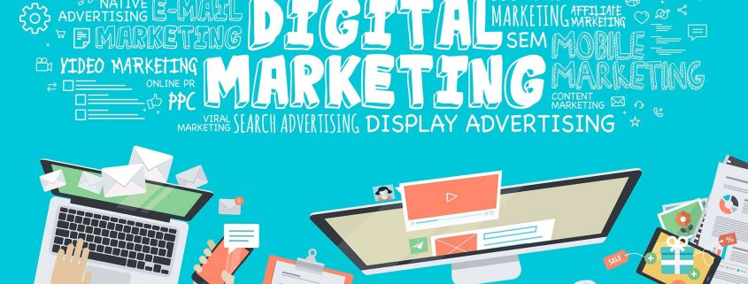 digital-marketing stylised icon