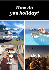 Air NZ how do you holiday?