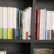 tax books, shelf of books, business books