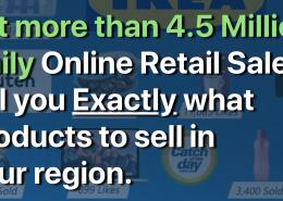 Trendosaur SaaS, retail find products