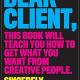 Dear Client book cover, Bonnie Siegler