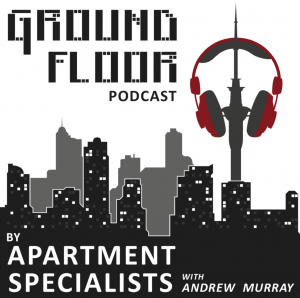 Apartment Specialists Podcast, real estate podcast, podcast logo, apartment specialists logo