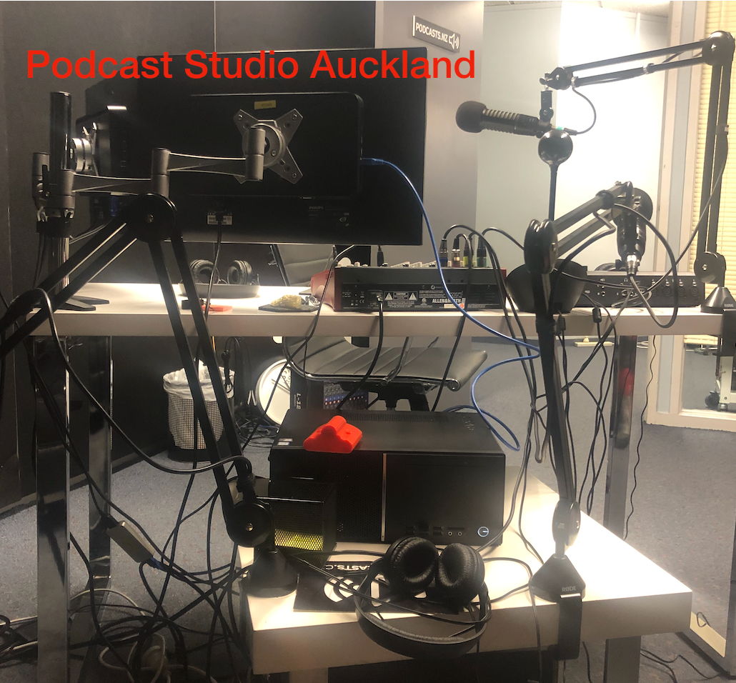 podcast studio, auckland podcast, podcast for business, NZ podcasts