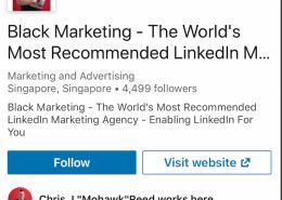 LinkedIn not link,