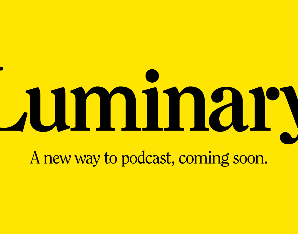 Luminary podcast logo