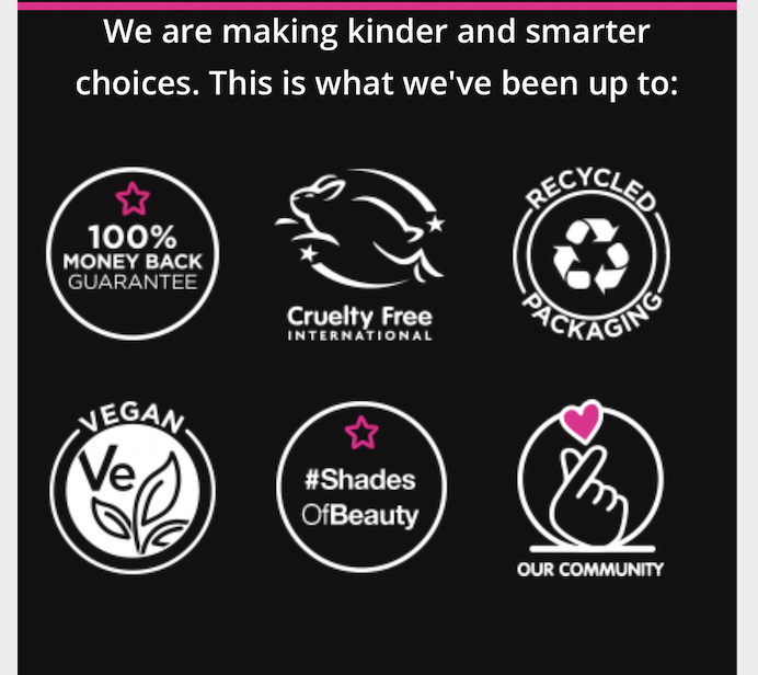 Superdrug campaign, kind and smart icons,