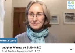 Vaughan Winiata and Rebecca Caroe video