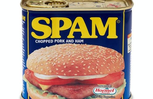 spam tin as a metaphor for bad email