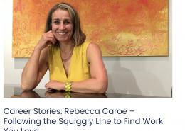 Rebecca Caroe career